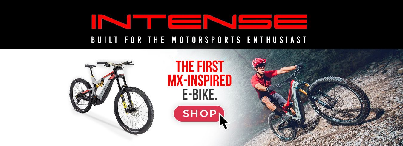 Intense E-Bikes are now available at GP Bikes!