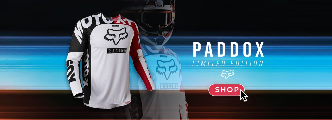 Fox Paddox Limited Edition Apparel now available at GP BIKES!