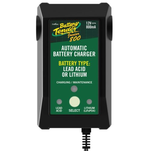Deltran Battery Tender Junior 12V 800 Selectable Lead Acid/Lithium Charger