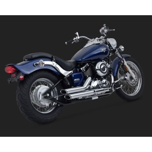 Vance & Hines Shortshots Staggered Exhaust Systems – Yamaha