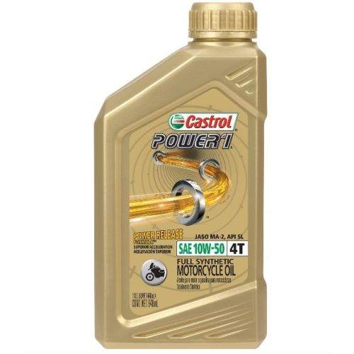 Castrol Power1 4T 10W-50 Full Synthetic Motorcycle Oil