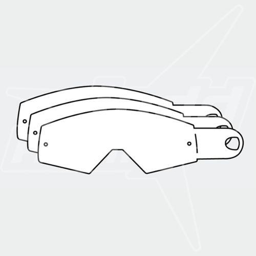 KTM Racing Goggles Tear Offs 12ct.