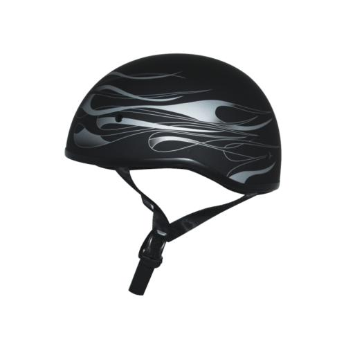 Zox Retro Old School Flare Half Helmet