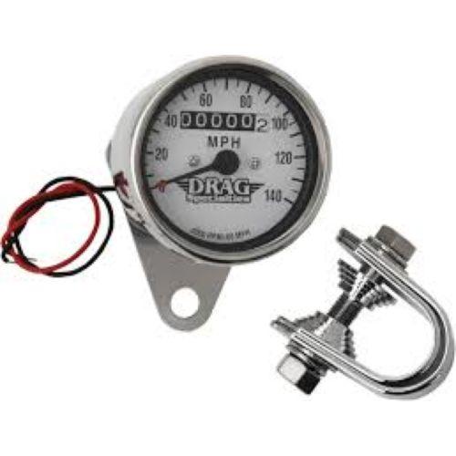 DRAG Specialties 2:1 Ratio Mini Speedometer
