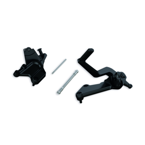 DUCATI DIAVEL MOVED-BACK RIDER FOOTPEGS