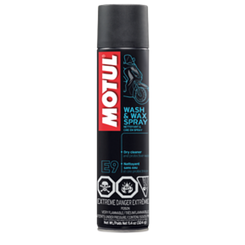 Motul E9 Wash And Wax 400ML