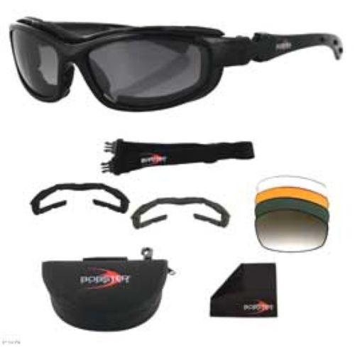 Bobster Road Hog II Convertible Sunglasses/Goggles