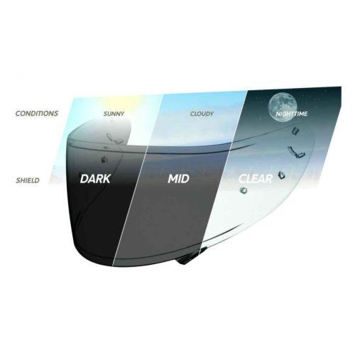 GMAX GM28/48/58/68/39Y Photochromatic Anti-Fog Shield