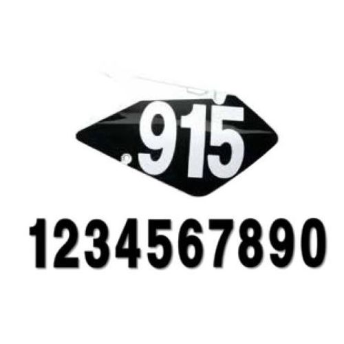 "Factory Effex 6"" Standard Numbers"