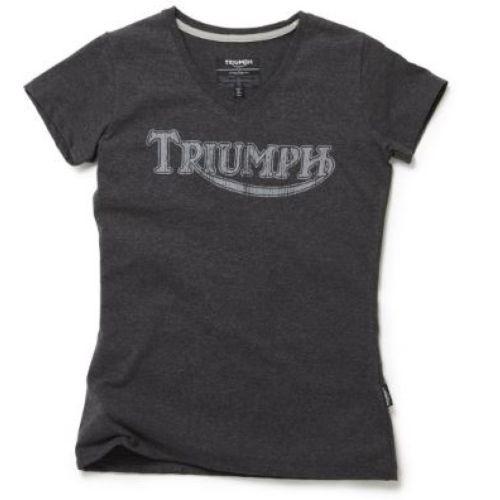 TRIUMPH Lady's Vintage Logo Tee