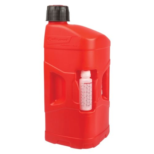 POLISPORT ProOctane Utility Can with cap & mixer Fuel, Oil