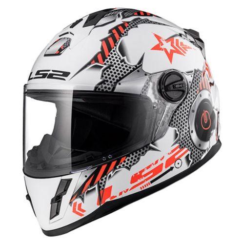 LS2 Rapid Junior Full-Face Helmet Machine - Summer