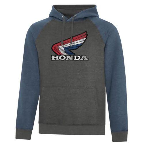 Honda TriColour Vintage Hoodie