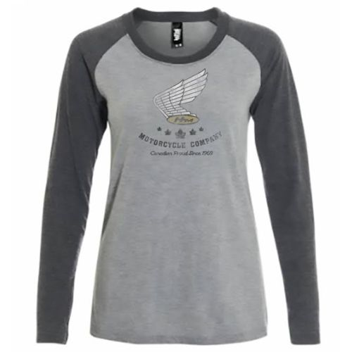 Honda Women's Long Sleeve Raglan T-Shirt
