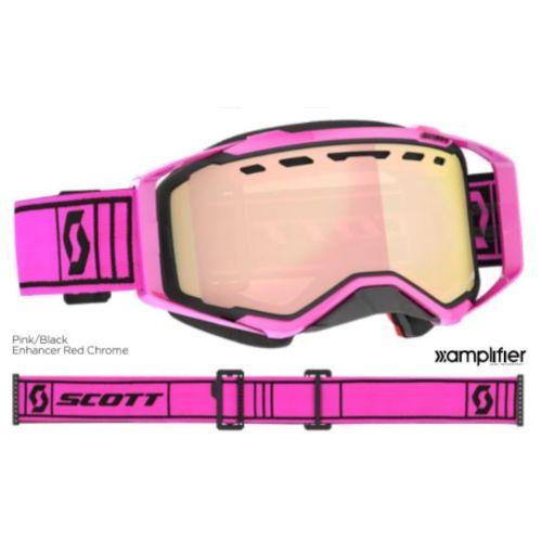 Scott Prospect Snowmobile Goggles - Chrome Enhancer Lens