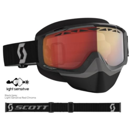 Scott Split OTG Snowmobile Goggle - Light Sensitive