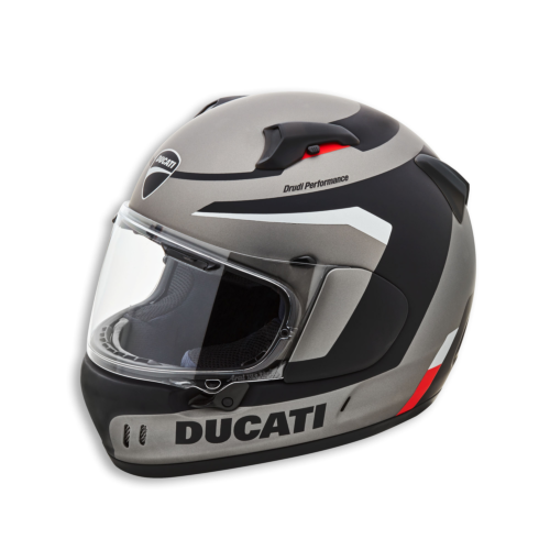 Ducati Black Steel Full Face Helmet