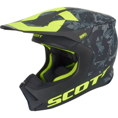 Scott 550 Camo Off Road Helmet