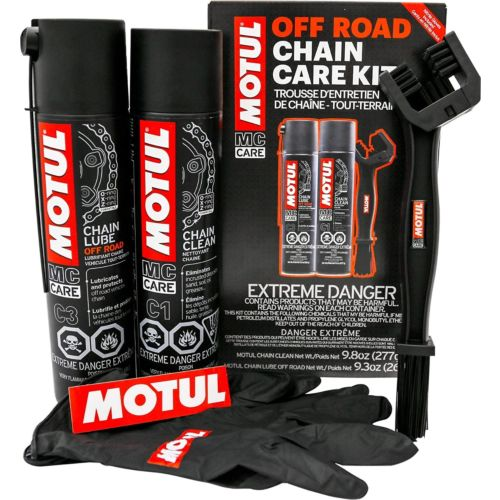 Motul Chain Care Kit - Off Road