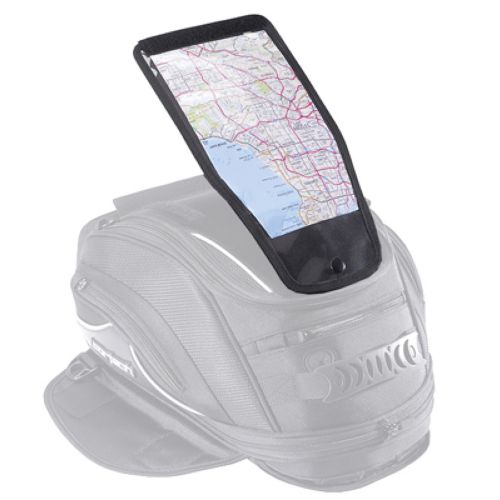 Cortech Super 2.0 8 Litre Tank Bag Map Pocket