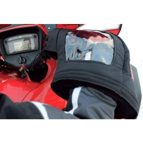 Gears Visi-Control Warm Fur Snowmobile Handlebar Muffs