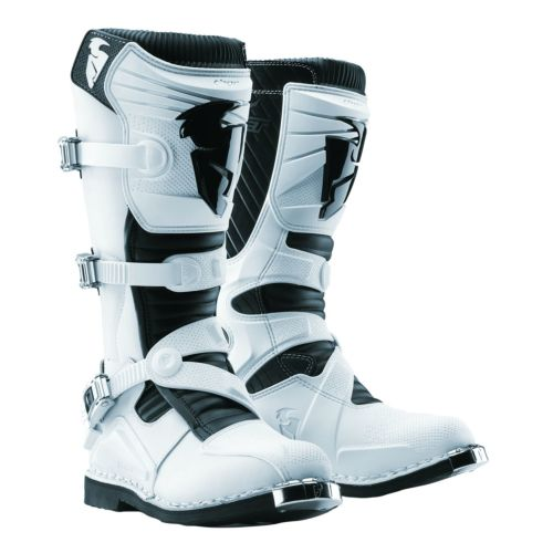 Thor Ratchet White Boot