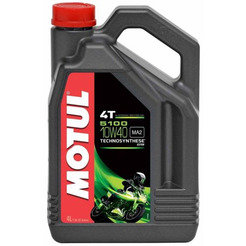 Motul 5100 Ester 4T Semi-Synthetic Oil