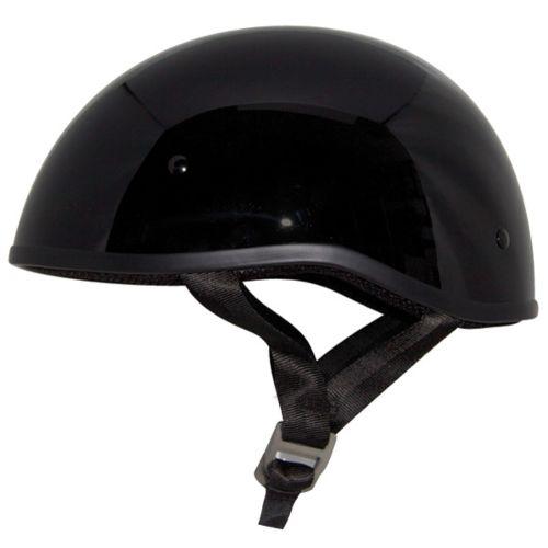 Zox Retro Old School Solid Half Helmet