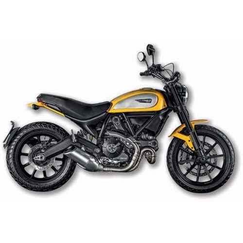 Ducati Scrambler Model Toy