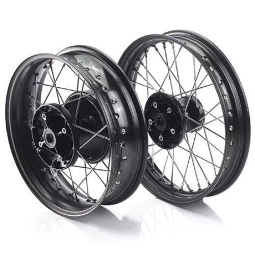 Triumph Black Wheel Set