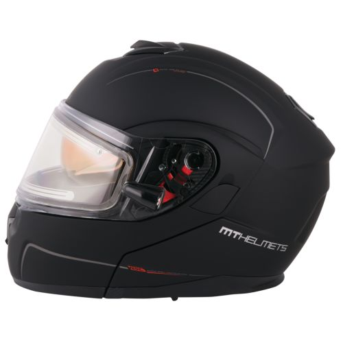 MT Helmets Atom SV Snow Double Shield Solid