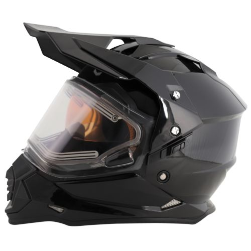 MT Helmets Mode DS Snow Electric Shield Solid