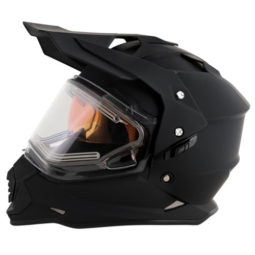MT Helmets Mode DS Snow Double Shield Solid