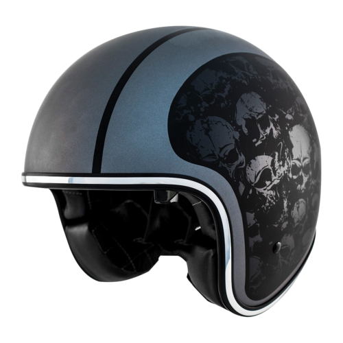 Zox Route 80 DDV Skulls Helmet