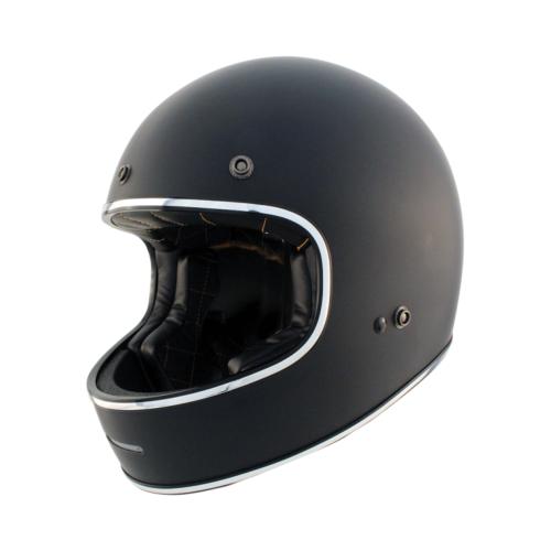 Zox Blitz Solid Retro Style Helmet