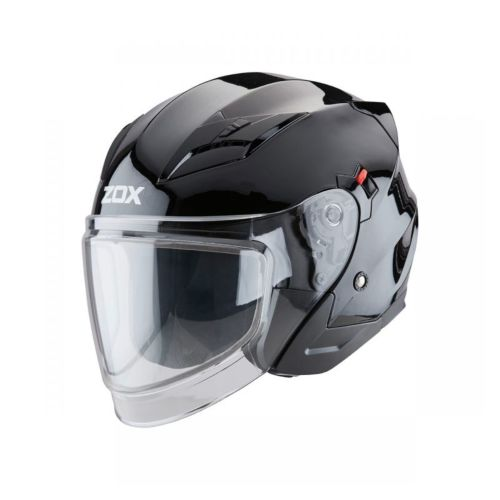 Zox Journey S Open Face Helmet (Double Lens Shield)