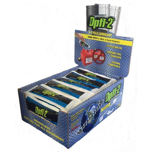 Opti-2 Smokeless Two-Cycle Oil Retail 5 Litre MIx Pouches