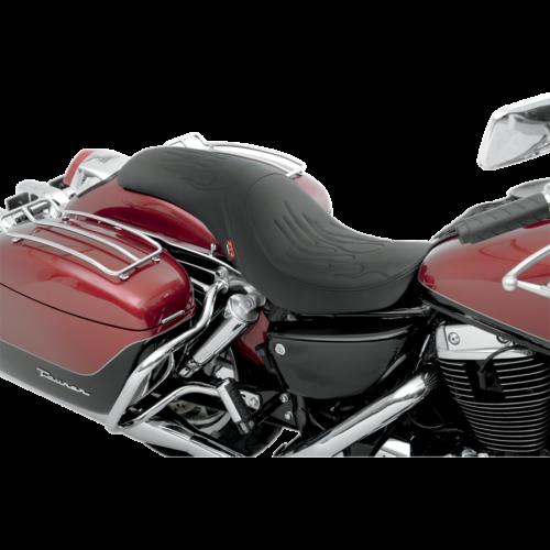 Z1R Predator Seat: Flame Stitch (Honda VT1100/C/ Shadow Sabre/Shadow A.C.E./Shadow A.C.E. Tourer 94-07)