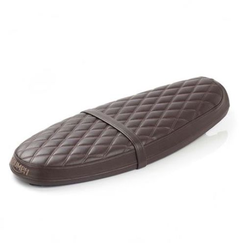 Triumph Brown Quilted Bench Seat