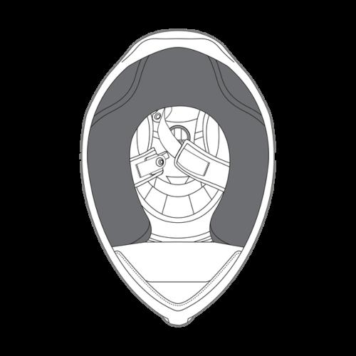 AGV K5 S Helmet Cheek Pads