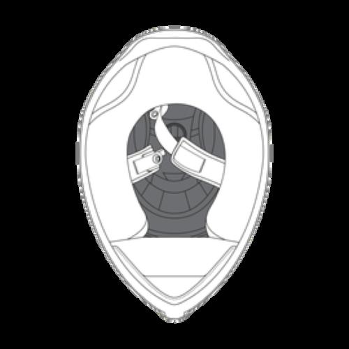 AGV K1 Helmet Crown Pad