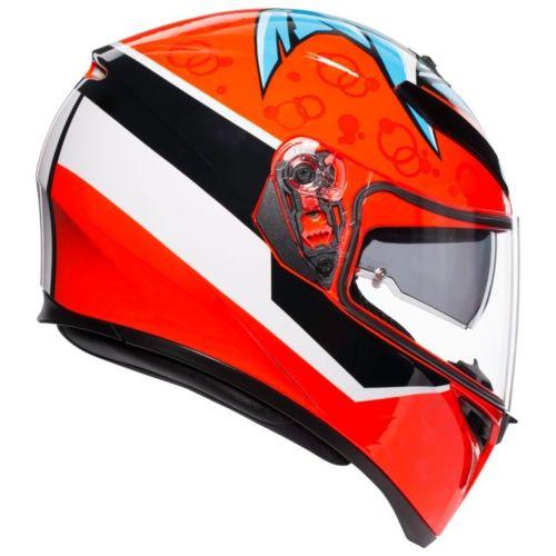 AGV K3 SV Attack Helmet (Maxi Pinlock)