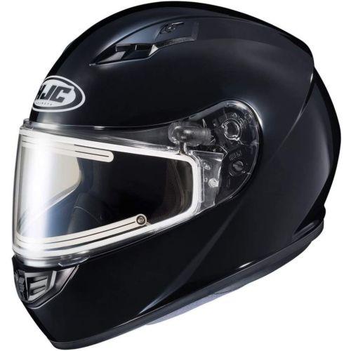 HJC CS-R3 Solid Snow Helmet with Dual-Lens Electric Shield