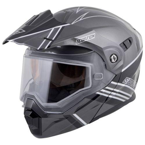 Scorpion EXO-AT950 Teton Snow (Electric Shield) Helmet