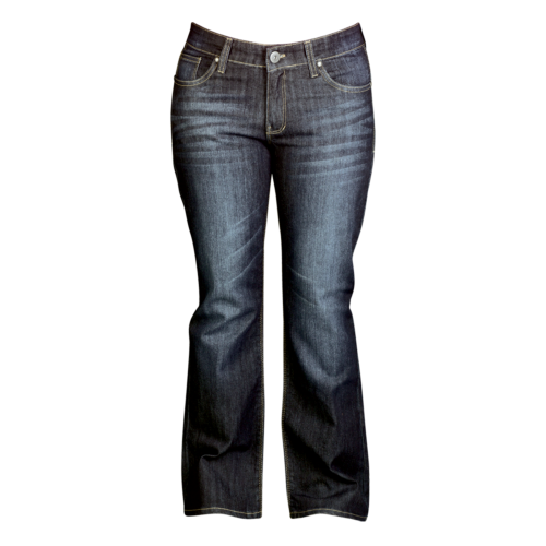 Resurgence Gear Ladies Blue Black Jeans