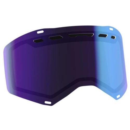 Scott Prospect/Fury Double Standard Snowmobile Replacement Lens (Chrome Amplifier)
