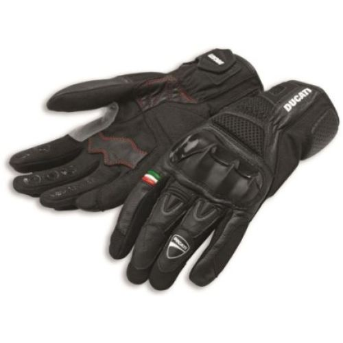 Ducati City C2 Fabric-Leather Gloves