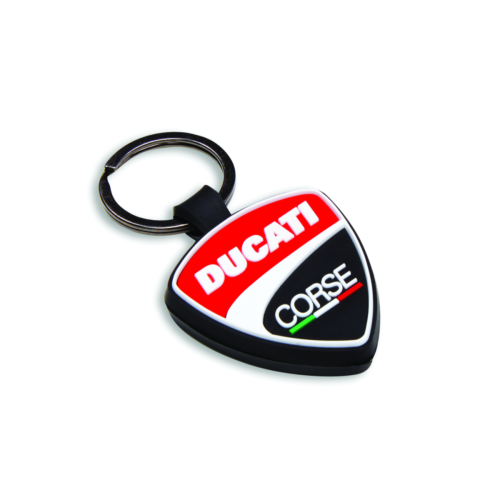 Ducati Corse Shield Key Chain
