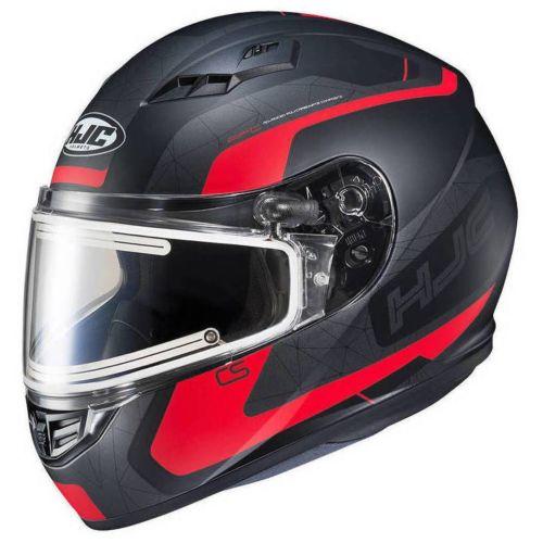 HJC CS-R3 Dosta Snow Helmet with Dual-Lens Electric Shield