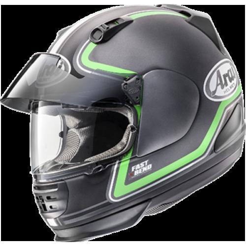 Arai Defiant Pro-Cruise Helmet Trophy Green Frost [Large]